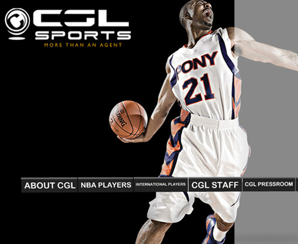 CGL Sports Website Cover
