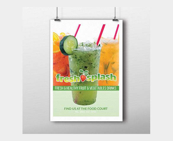 Fresh Splash Signage Mockup