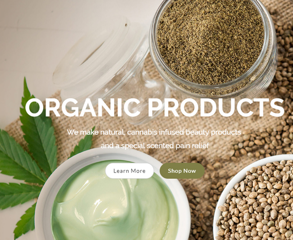 Gods Gift Botanicals Website